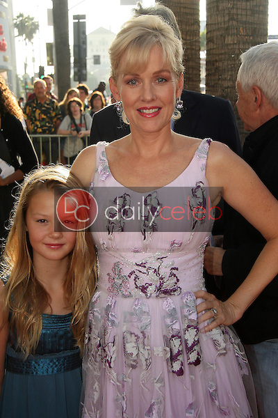 """Penelope Ann Miller and Eloisa May Huggins<br /> at the """"Flipped"""" Los Angeles Premiere, Arclight, Hollywood, CA. 07-26-10<br /> David Edwards/DailyCeleb.com 818-249-4998"""