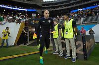 Photo before the match Estados Unidos vs Argentina at NRG Stadium, in Houston, Texas corresponding to the Semifinals of Copa America Centenario 2016. ---<br /> <br /> Foto previa al partido Estados Unidos vs Argentina ,en el Estadio NRG, en Houston, Texas. Partido Correspondiante a la semifinal de la Copa America Centenario USA 2016, en la foto:Brad Guzan<br /> <br /> --- - 21/06/2016/MEXSPORT/JAVIER RAMIREZ