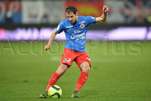 04.03.2016. Caen, France. French League 1 football. Caen versus Monaco.  NICOLAS SEUBE (caen)