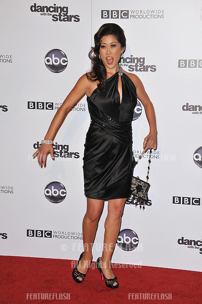 Kristi Yamaguchi at the 200th episode party for Dancing With The Stars at Boulevard 3 in Hollywood..November 1, 2010  Los Angeles, CA.Picture: Paul Smith / Featureflash