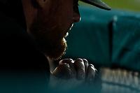 Barry Enrigth.<br /> Mayos de Navojoa gana el partido 4 carreras por 3 para eliminar a los naranjeros, durante juego de beisbol de la Liga Mexicana del Pacifico temporada 2017 2018. Quinto juego de la serie de playoffs entre Mayos de Navojoa vs Naranjeros. 6Enero2018. (Foto: Luis Gutierrez /NortePhoto.com)