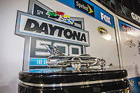 Harley J, Earl trophy, Daytona 500, NASCAR Sprint Cup Series, Daytona International Speedway, Daytona Beach, FL