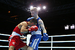 Glasgow 2014 Commonwealth Games<br /> <br /> Joseph Cordina, Wales (red) v Charlie Flynn, Scotland (blue)<br /> <br /> 01.08.14<br /> ©Steve Pope-SPORTINGWALES
