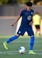 Miami, FL - Tuesday, October 15, 2019:  (headline} during a friendly match between the USMNT U-23 and El Salvador at FIU Soccer Stadium.