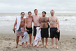 Brian, James, Pat, Yoann and Padraig at the Stephens Day Swim at Clogherhead Beach...(Photo credit should read Jenny Matthews www.newsfile.ie)....This Picture has been sent you under the conditions enclosed by:.Newsfile Ltd..The Studio,.Millmount Abbey,.Drogheda,.Co Meath..Ireland..Tel: +353(0)41-9871240.Fax: +353(0)41-9871260.GSM: +353(0)86-2500958.email: pictures@newsfile.ie.www.newsfile.ie.