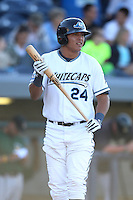 West Michigan Whitecaps outfielder Avisail Garcia (24) during a game vs. the South Bend Silver Hawks at Fifth Third Field in Comstock Park, Michigan August 16, 2010.   West Michigan defeated South Bend 3-2.  Photo By Mike Janes/Four Seam Images