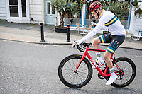 defending TT World Champion Rohan Dennis (AUS/Bahrein-Merida) (on a BMC bike...) after the Team Australia TT recon<br /> <br /> 2019 Road World Championships Yorkshire (GBR)<br /> <br /> ©kramon
