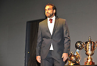 Dwayne De Rosario of D.C. United during the 11th Annual Kickoff luncheon, at The Hamilton Live DC in Washington DC , Tuesday March 5, 2013.