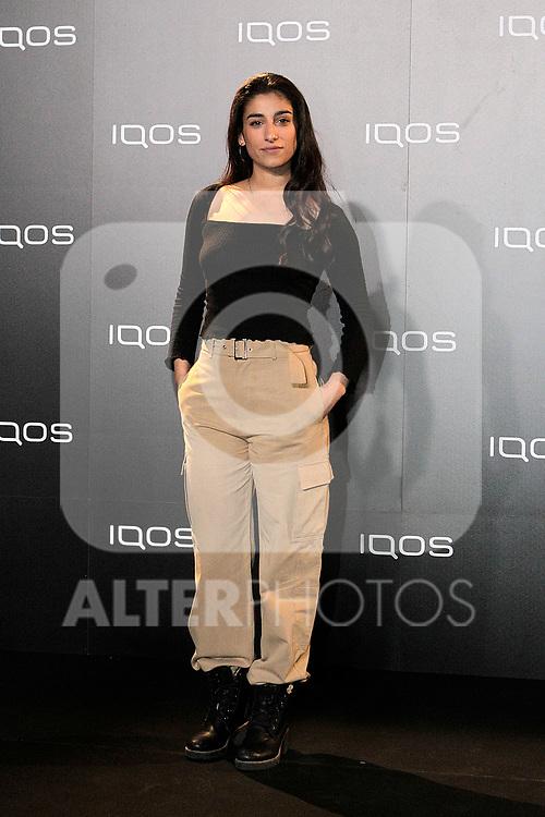 Carolina Yuste attends to IQOS3 presentation at Palacio de Cibeles in Madrid. February 10,2019. (ALTERPHOTOS/Alconada)