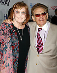 """Anne Meara & Jerry Stiller<br /> arriving for the New York Premiere Screening  of """"HAIRSPRAY"""" at the Ziegfeld Theatre.<br /> July 16, 2007"""
