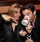 Orfeh and Andy Karl during a press preview at Feinstein's/54 Below on November 18, 2016 in New York City.