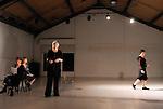 SUR PAROLES  ....Choregraphie : CHOURLIN Lulla SORIN Genevieve..Festival : Concordanse..Lumiere : AUZAS Pierre..Avec :..JOUBERT Suzanne..CHOURLIN Lulla..SORIN Genevieve..RODES Christine..Lieu : Le Colombier..Ville : Bagnolet..Le : 11 04 2009..© Laurent Paillier / www.photosdedanse.com..All rights reserved
