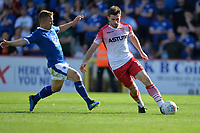 Danny Newton of Stevenage during Stevenage vs Tranmere Rovers, Sky Bet EFL League 2 Football at the Lamex Stadium on 4th August 2018