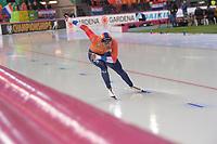 SPEEDSKATING: HAMAR: Vikingskipet, 28-02-2020, ISU World Speed Skating Championships, Sprint, 1000m Men, Dai Dai Ntab (NED), ©photo Martin de Jong