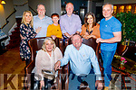 Celebrating the birthday of Jackie Falvey from Banteer in the Ashe Hotel on Saturday.<br /> Seated l to r: Jackie and Mick Falvey.<br /> Back l to r: Rosemarie Murphy, Ger Collins, Lily, Tom, Trish and Finbarr Collins.