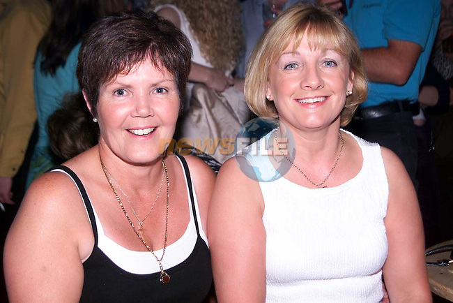 Patricia Thornton, Forest Hill and Imelda Cowley, Stameen pictured in the Star and Crescent over the weekend..Picture Paul Mohan Newsfile