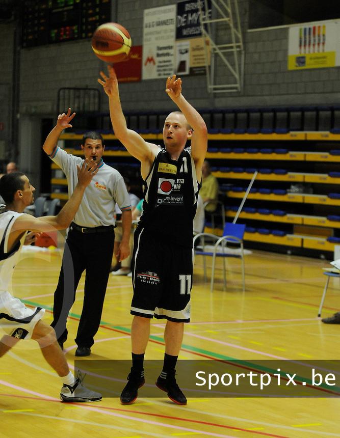 TMCI Wevelgem : Joren Biebuyck.foto VDB / BART VANDENBROUCKE