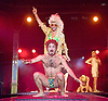 Briefs<br /> The Second Coming <br /> The World's Hottest All Male Boylesque Spectacular <br /> at the London Wonderground<br /> at The Southbank Centre, London, Great Britain <br /> 29th August 2014 <br /> <br /> Louis Biggs<br /> Fez Faanana<br /> Mark Windmill<br /> Evil Hate Monkey <br /> Dallas Dellaforce<br /> Thom Worrell <br /> <br /> Photograph by Elliott Franks <br /> Image licensed to Elliott Franks Photography Services
