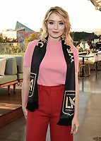"LOS ANGELES - AUGUST 21: Sarah Bolger at FX's ""Mayans M.C."" Activation at Los Angeles Football Club at Banc of California Stadium on August 21, 2019 in Los Angeles, California. (Photo by Scott Kirkland/FX Networks/PictureGroup)"