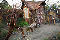 """The Hermit's Garden"" by Kate Frey and Ben Frey at The Late Show Gardens, Cornerstone, Sonoma California"