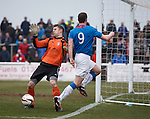 Sandy Wood saves from Jon Daly
