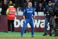 Stoke City manager Paul Lambert during West Ham United vs Stoke City, Premier League Football at The London Stadium on 16th April 2018