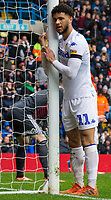 Leeds United's Tyler Roberts reacts in the closing stages<br /> <br /> Photographer Alex Dodd/CameraSport<br /> <br /> The EFL Sky Bet Championship - Leeds United v Sheffield United - Saturday 16th March 2019 - Elland Road - Leeds<br /> <br /> World Copyright © 2019 CameraSport. All rights reserved. 43 Linden Ave. Countesthorpe. Leicester. England. LE8 5PG - Tel: +44 (0) 116 277 4147 - admin@camerasport.com - www.camerasport.com