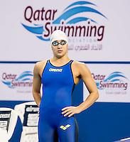 RIZKALLAH Jennifer LIB<br /> 100 freestyle women<br /> heats<br /> FINA Airweave Swimming World Cup 2015<br /> Doha, Qatar 2015  Nov.2 nd - 3 rd<br /> Day0 - Nov. 1 st<br /> Photo G. Scala/Deepbluemedia/Insidefoto
