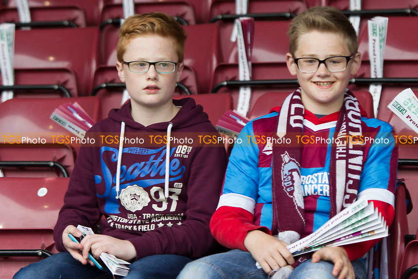 Scunny supporters during Scunthorpe United vs Millwall, Sky Bet EFL League 1 Play-Off Football at Glanford Park on 7th May 2017