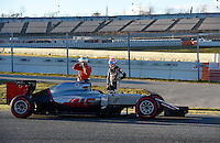 03 March 2016 - Barcelona, Spain - Formula 1 GP Barcelona Tests. Photo: Jerry Andre/face to face/AdMedia