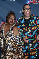 """LOS ANGELES - SEP 3:  Jackie Fabulous, Greg Morton at the """"America's Got Talent"""" Season 14 Live Show Red Carpet at the Dolby Theater on September 3, 2019 in Los Angeles, CA"""