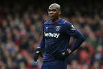 West Ham's Angelo Ogbonna during the Premier League match at the Emirates Stadium, London. Picture date: 7th March 2020. Picture credit should read: Paul Terry/Sportimage