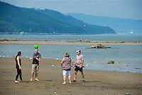 CA- Charlevoix Beach Scenes, Charlevoix Quebec CA 7 14