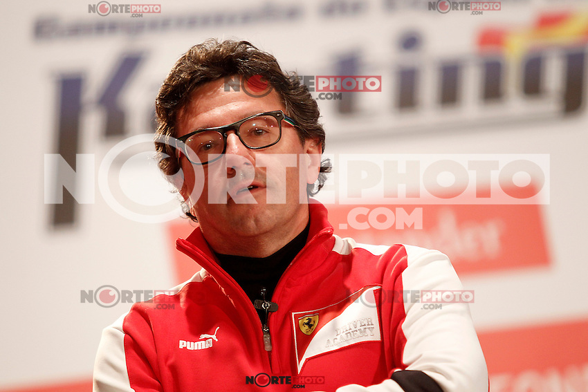 Luca Baldisserri director of the Ferrari Driver Academy during the gala Santander  Karting Champions 2012..(Alterphotos/Acero) NortePhoto
