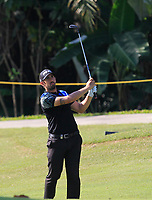 Matthieu Pavon (FRA) in action on the 9th during Round 4 of the Maybank Championship at the Saujana Golf and Country Club in Kuala Lumpur on Saturday 4th February 2018.<br /> Picture:  Thos Caffrey / www.golffile.ie<br /> <br /> All photo usage must carry mandatory copyright credit (© Golffile | Thos Caffrey)