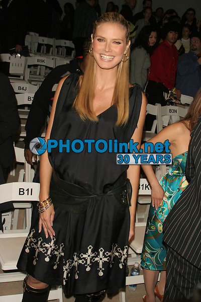 Heidi Klum 2006<br /> Photo By John Barrett-PHOTOlink.net