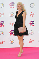 NON EXCLUSIVE PICTURE: PAUL TREADWAY / MATRIXPICTURES.CO.UK<br /> PLEASE CREDIT ALL USES<br /> <br /> WORLD RIGHTS<br /> <br /> Belarusian tennis player Olga Govortsova attending the WTA Pre Wimbledon Party, at London's Kensington Roof Gardens.<br /> <br /> 20TH JUNE 2013<br /> <br /> REF: PTY 134225