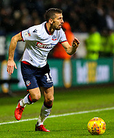 Bolton Wanderers' Gary O'Neil<br /> <br /> Photographer Alex Dodd/CameraSport<br /> <br /> The EFL Sky Bet Championship - Bolton Wanderers v West Bromwich Albion - Monday 21st January 2019 - University of Bolton Stadium - Bolton<br /> <br /> World Copyright © 2019 CameraSport. All rights reserved. 43 Linden Ave. Countesthorpe. Leicester. England. LE8 5PG - Tel: +44 (0) 116 277 4147 - admin@camerasport.com - www.camerasport.com