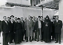 Syrie 1954.Avec des chretiens, au centre Ali Bozo et a cote de lui au premier rang Omar Shemdin.Syria 1954.With christians, Ali Bozo in the middle and next to him Omar Shemdin
