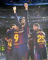 REAL MADRID v FC BARCELONA. LA LIGA 2017/2018. ROUND 17.