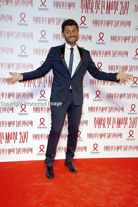 Christophe Beaugrand - Sidaction 2017 Fashion Dinner - 26/01/2017 - Paris - France # DINER DE LA MODE DU SIDACTION 2017