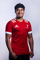 Alfred Nonu (Tangaroa College). 2019 New Zealand Schools Barbarians rugby union headshots at the Sport & Rugby Institute in Palmerston North, New Zealand on Wednesday, 25 September 2019. Photo: Dave Lintott / lintottphoto.co.nz