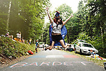 Australian fan during Stage 9 of the 104th edition of the Tour de France 2017, running 181.5km from Nantua to Chambery, France. 9th July 2017.<br /> Picture: ASO/Pauline Ballet | Cyclefile<br /> <br /> <br /> All photos usage must carry mandatory copyright credit (&copy; Cyclefile | ASO/Pauline Ballet)