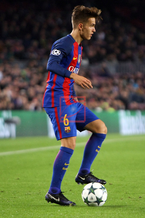 UEFA Champions League 2016/2017 - Matchday 6.<br /> FC Barcelona vs VfL Borussia Monchengladbach: 4-0.<br /> Denis Suarez.