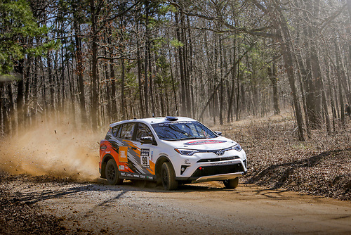 2017 Rally America<br /> Rally in the 100 Acre Wood<br /> Salem, MO USA<br /> Wednesday 15 March 2017<br /> Ryan Millen, Rhianon Gelsomino<br /> &copy;2017, Gardner Automotive Communications, Inc.