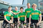 The Kerry cycling team that will race in this years RAS l-r: Richard Maes, Barry Horgan, Cathal Moynihan, Eoin O'Connell and John Brosnan