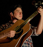Marcus Mumford of Mumford and Sons at the Boston House of Blues 2011.