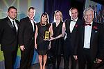 © Joel Goodman - 07973 332324 . 06/11/2014 .  Manchester , UK . Winner of the Judges' Choice category , Lancashire County Cricket Club . The MEN Business Awards 2014 at the Midland Hotel . Photo credit : Joel Goodman