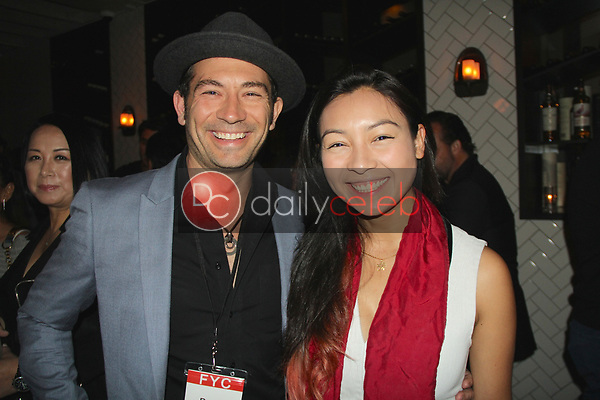 "Brent Harvey, Ipolita Frahm<br /> at the ""Struggleing"" For Your Consideration event hosted by A. Whole Productions and Brent Harvey Films, Crossroads Kitchen, Los Angeles, CA 06-06-18<br /> David Edwards/DailyCeleb.com 818-249-4998"