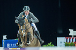 Ludger Beerbaum of Germany riding on Cool Down competes during the EEM Trophy, part of the Longines Masters of Hong Kong on 10 February 2017 at the Asia World Expo in Hong Kong, China. Photo by Juan Serrano / Power Sport Images